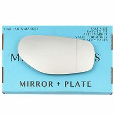 Right side wide angle Wing mirror glass for TVR chimaera Griffith 1992-03 +plate