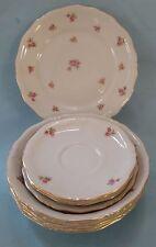 WINTERLING China Vintage ROSEBUD Gold ROCOCO Tableware Dinnerware Porcelain SET