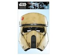 Shoretrooper Star Wars Rogue One Single 2D Card Party Face Mask stormtrooper
