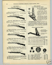1936 PAPER AD Daisy Air Rifle BB Gun Pump Lever Stevens Iver Johnson Remington