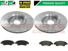 FOR CITROEN C1 PEUGEOT 107 108 TOYOTA AYGO FRONT BRAKE DISCS & BRAKE PADS 247mm
