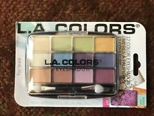 L.A. Colors 12 Color Eyeshadow Palette With Applicator Urban BEP425 BNIP