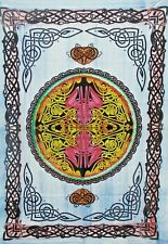 Indian Tapestry Celtic Peace Sign Bobo Poster Decorative Wall Hanging Art Hippie