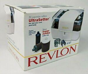 Revlon 20 Supersize Rollers UltraSetter Model RV-255