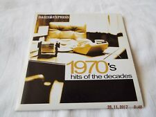 DAILY EXPRESS 1970'S HITS OF THE DECADES CD