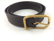 Louis Vuitton Cintura Belt Marrone Pelle Vintage Rare Usata Buone Condizioni