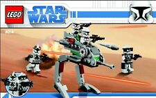 Star Wars Lego 8014 Clone Walker Battle Pack (box and Minifigures NOT included)