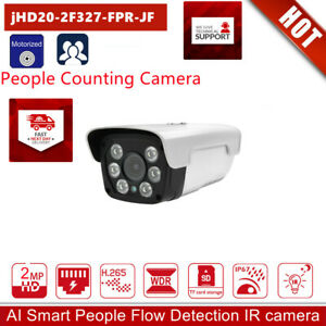 Newest People Counting security IP camera Mask Face recognition Zoom Detection