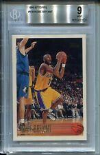 1996 Topps Basketball #138 Kobe Bryant Rookie Card RC Graded BGS MINT 9 '96