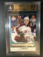 2017-18 Upper Deck Alex Kerfoot Young Guns Rookie BGS 9.5
