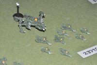 item scifi / alien - fleet 9 figures - spaceship (23795)