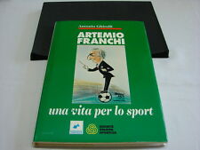 (Antonio Ghirelli) Artemio Franchi Una vita per lo sport 1983 SSS nel cofanetto