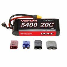 Venom 20C 5400mAh 11.1V 3S 3 Cell LiPo Battery Drive Traxxas VXL VNR1581 VEN1581