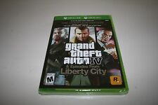 Grand Theft Auto IV 4 Complete Edition BRAND NEW FACTORY SEALED Xbox One and 360