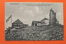 Tschechien CZ AK Riesengebirge Schneekoppe 1917 Preussische Böhmische Baude Turm