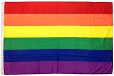 3x5 Ft Rainbow Flag (Gay Pride Lesbian Lgbt Sign Banner Flag) b