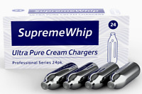 100 Supreme Whip cream chargers whipped Ultra Pure Best N 8g  2 boxes of 50