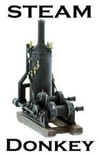 STEAM DONKEY Engine S scale built up detailed model