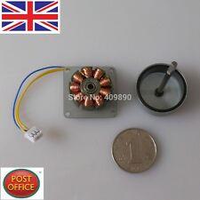 Three Phase DIY AC Micro Brushless Wind Power Hand Cranked Generator Motor 3-24V