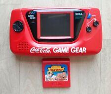 Console SEGA Game Gear GameGear Coca-Cola Edition JAP - Fonctionnelle - TBE