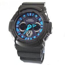 Casio G-shock, GA-200SH-2AER, Negro, Hora Mundial, Cronómetro, Temporizador, Alarma