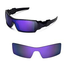 New Walleva Polarized Purple Lenses For Oakley Oil Rig
