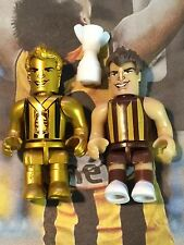 AFL Micro Figures - Luke Hodge Super Rare Norm Smith Medallist & Common Figures
