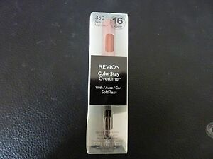 Revlon ColorStay Overtime Lipcolor - BARE MAXIMUM  #350 - Brand New / Boxed