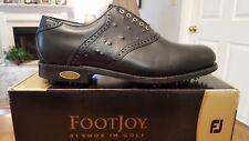 Footjoy Classics Dry Premiere Mens Golf Shoes 50709 NEW Blk/Ostrich 11E USA Mfg
