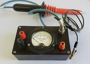 RCA WG 289 High Voltage Probe with Simpson High Voltage Meter (0-100 mAmperes)
