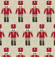 """1.8m/72"""" oilcloth pvc wipe clean xmas nutcracker toys wipe-able   TABLE CLOTH CO"""