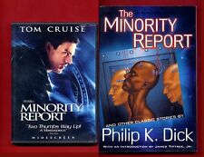 The Minority Report by Philip K. Dick (book) + Minority Report DVD - Free Ship!