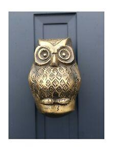 Baby Owl Door Knocker SECONDS