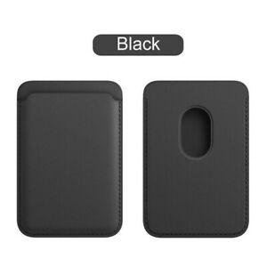 Original Magnetic Card Holder Phone Case For iPhone 12 Pro Max Mini MagSafe