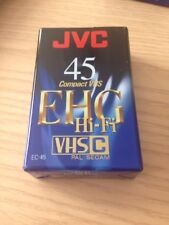 JVC 45 EHG Hi Fi compact VHS EC45 SECAM Cassette sealed
