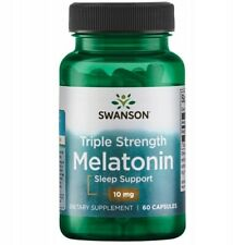 Swanson Melaton Melatoni 10mg 60-360 Kapseln Besserer Schlaf Express Versand