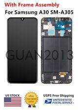 WOW For Samsung Galaxy A30 SM-A305G/DS A305F/DS LCD Screen Touch Digitizer Frame