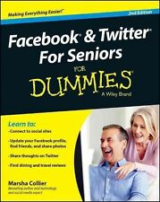 Facebook & Twitter Seniors FD 2e (For Dummies), Collier, Marsha, Very Good,