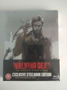 The Walking Dead: Season 2 (Limited Edition Blu-ray Steelbook) New