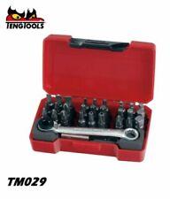 Teng Tools TM029 29 Piece Bit Set (PH PZ TPX TX ROB BITS) Ratchet and bit Holder