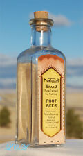 Antique SEARS ROEBUCK Montclair Brand ROOT BEER Exract bottle w/ COLORFUL LABEL