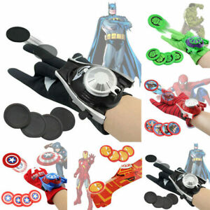 Avengers Batman Spiderman Hulk Toys Glove Launcher Props Superhero Prop Gifts