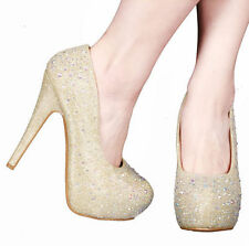 Platforms & Wedges Medium (B, M) Synthetic 9 Heels for Women