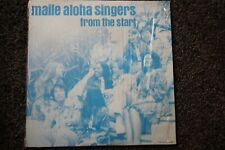 Vintage Record Album Maile Aloha Singers From The Start Hawaiiana