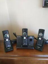 Uniden Tru9280-3 5.8 Ghz Cordless Phone Digital Answering Machine