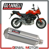 Auspuff Giannelli Maxi Oval Aluminium Kawasaki ER-6N 2005 05