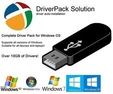 NEW 2017 Release! DriverPack Solution Automatic Computer Driver Update on USB