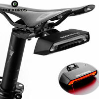 RockBros Bicycle Light USB Rechargeable Tail Light Wireless Remote Control Turn