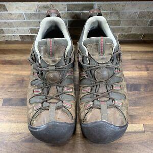 Keen Shoes Mens 10 Keen Dry Brown Waterproof Low Top Hiking Trail