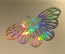 Fancy Butterfly Rainbow Holographic Vinyl Car Decal Sticker Laptop Window 16-02